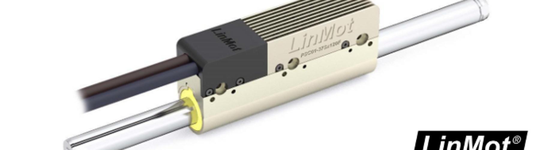 Motor linear PSC01-37Sx120F-HP com drive integrada