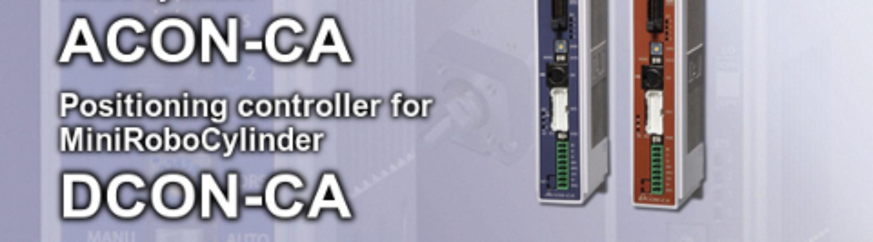 Novos controladores de posição ACON-CA e DCON-CA