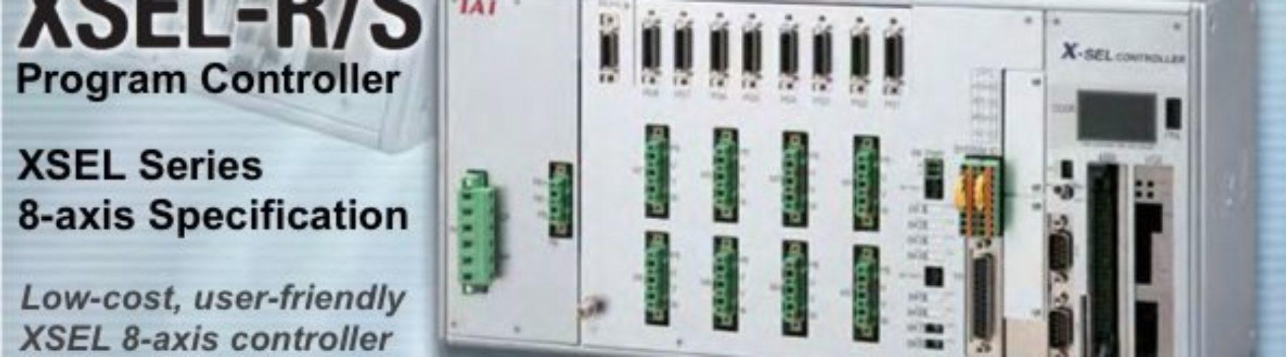 Controlador Programável de 8-eixos bastante fácil de utilizar