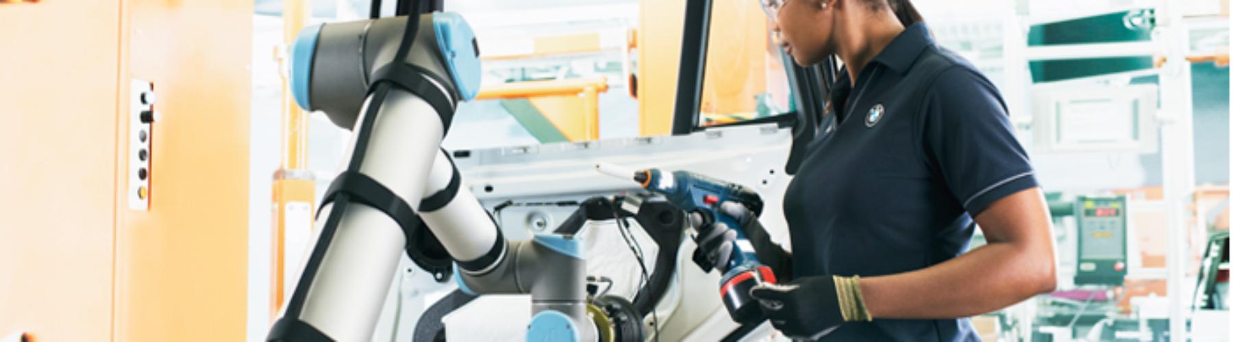Robótica inovadora - O Universal Robot na BMW