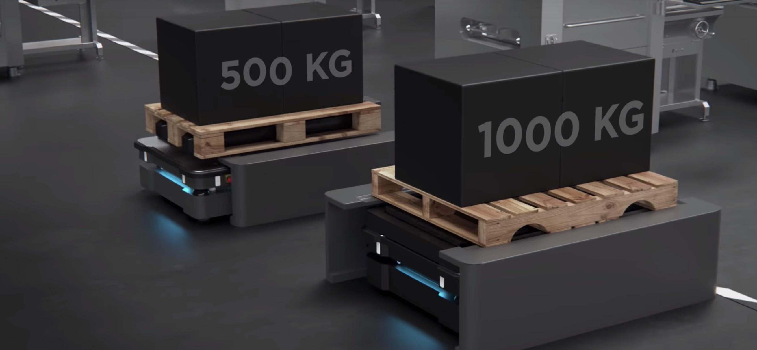 Robótica colaborativa móvel - Mobile Industrial Robots
