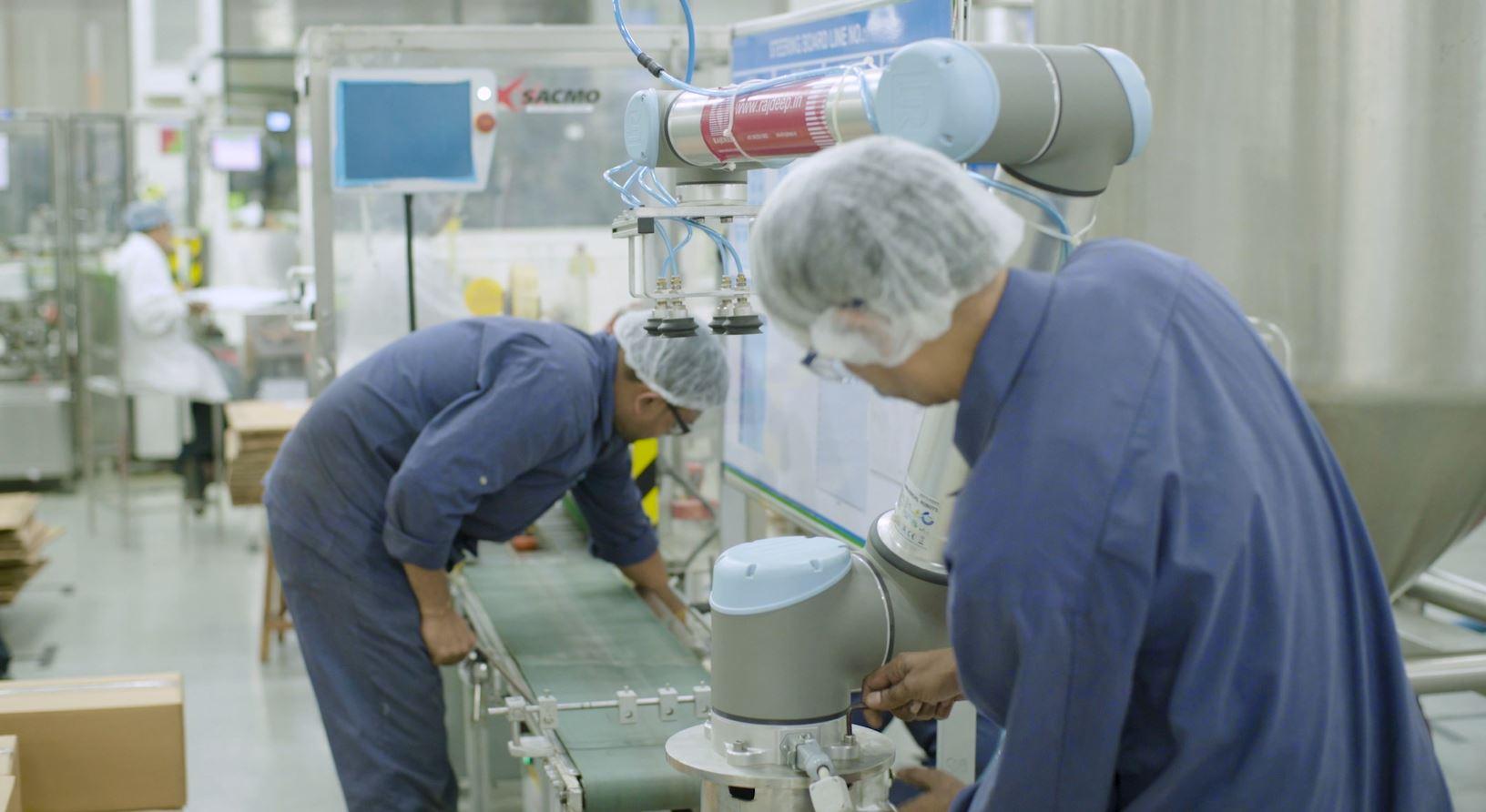 Robótica ao serviço da indústria